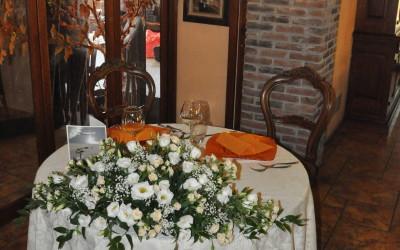 tavolo tondo matrimoni